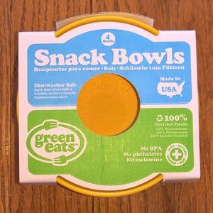 New Green Eats Snack Bowls Set of 4
